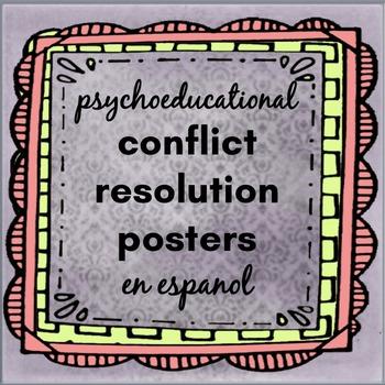 En Espanol: Psychoeducational Conflict Resolution Poster
