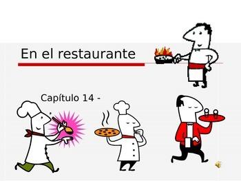 En el Restaurante Vocabulary