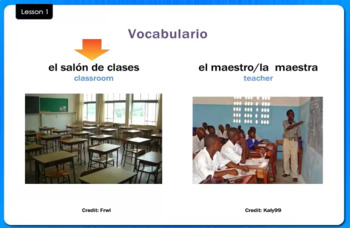 En la Escuela - In the School - Video Tutorial
