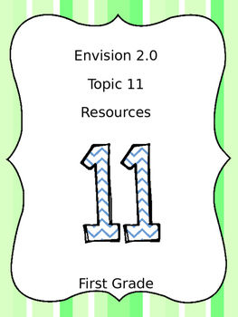 EnVision 2.0 Topic 11 Preview, Lesson 11.1