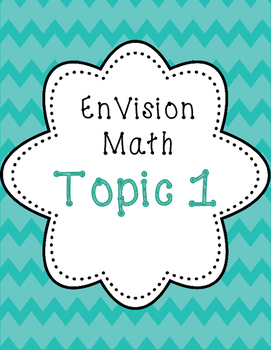 EnVision 2nd grade Math Topic 1 Addition and Subtraction 1