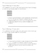 EnVision Math Extended Response Questions - Topic 1