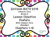 EnVision Math Grade 3 Posters