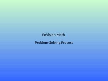 EnVision Problem-Solving Process
