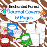 Enchanted Forest Classroom Theme - Journal Covers and Pages