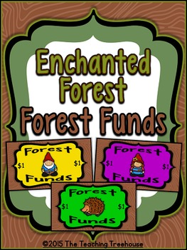 """Enchanted Forest """"Forest Funds"""" ~ Behavior Bucks, Classroo"""