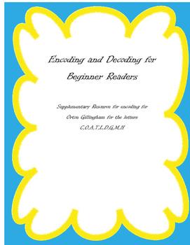 Encoding for Beginning Readers