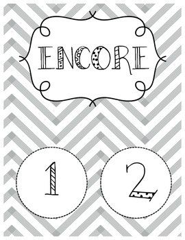 Encore/Specials Calendar