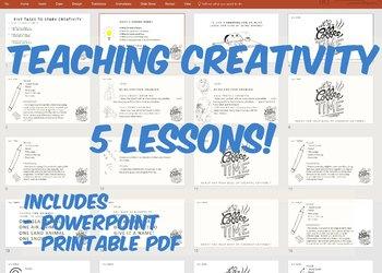 Encourage Creativity - 5 EASY Lessons