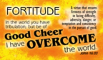 Encouragement Cards - Fortitude