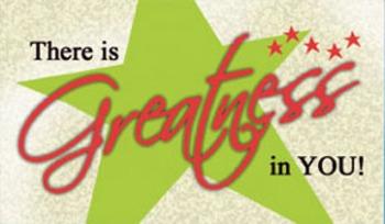 Encouragement Cards - Greatness