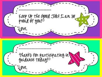 Encouraging Notes (Blank Signature)