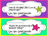 Encouraging Notes (Counselor) Pack of 6