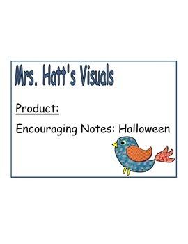 Encouraging Notes: Halloween