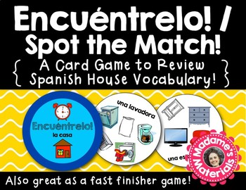 Encuéntrelo: La Casa! A Spot the Match game for Spanish Ho