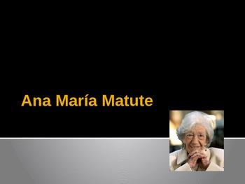Encuentros maravillosos Ana María Matute author info chapter 5