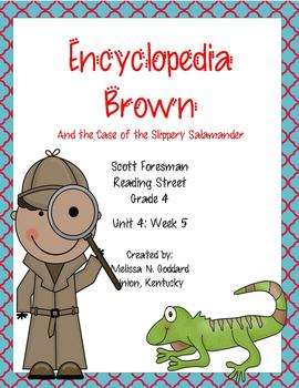 Encyclopedia Brown and the Case of the Missing Salamander