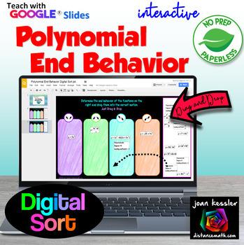 End Behavior of Polynomial Functions: Digital Sorting Acti