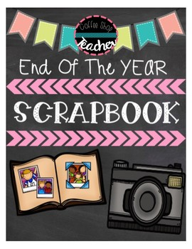End Of The Year Memory Book & Photo Album
