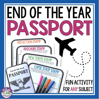 END OF THE YEAR ACTIVITY: PASSPORT