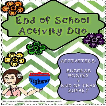 End of School Activity Duo