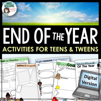 End of The Year Activities - Middle / High School - Google