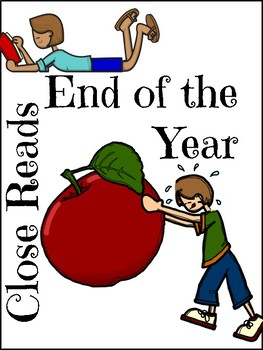 End of Year 5 Day Close Read CCSS Aligned