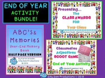 End of Year ACTIVITIES BUNDLE