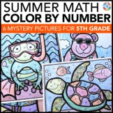5th Grade Math Review: 5th Grade End of the Year Activitie