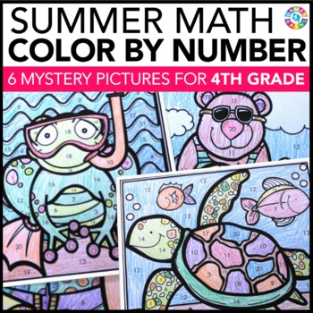 4th Grade Math Review: 4th Grade End of the Year Activitie