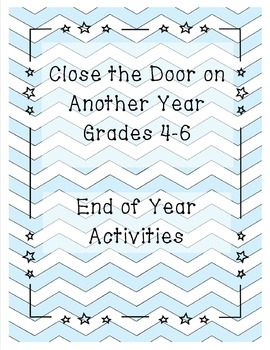 End of Year Activities - Poetry/Journal/Word Search and More!