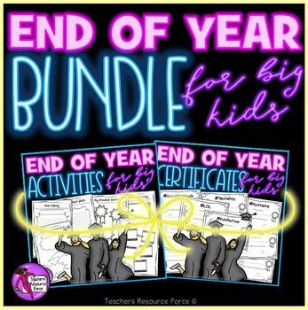 End of the Year: Activities and Awards bundle