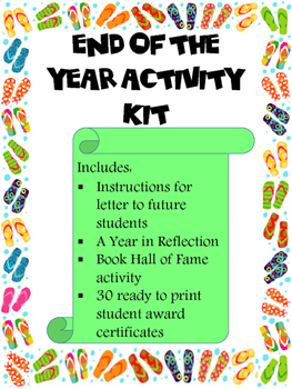 End of Year Activity Kit