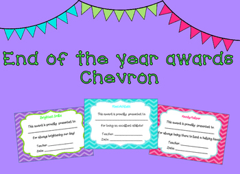 End of Year Awards Chevron
