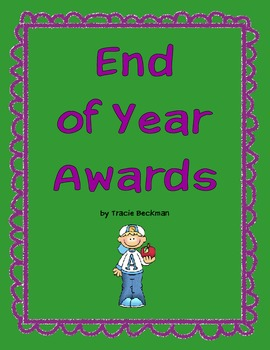 End of Year Awards (Elementary)
