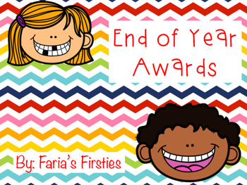 End of Year Awards { FREEBIE! }