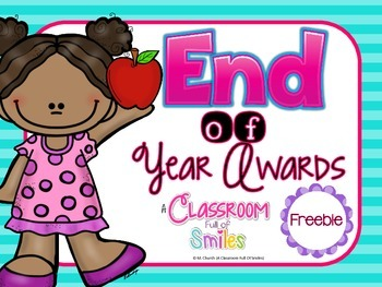 End of Year Awards FREEBIE