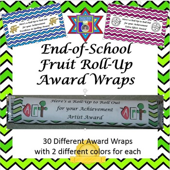 End of Year Awards (Fruit Roll-Up Wrap Awards)