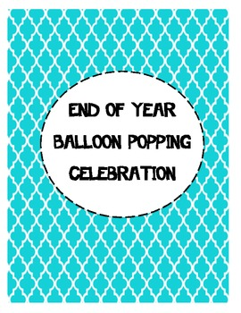 End of Year Balloon Celebration