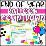 End of Year Balloon Pop Activities