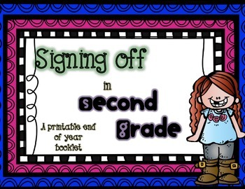 End of Year Booklet: Second Grade