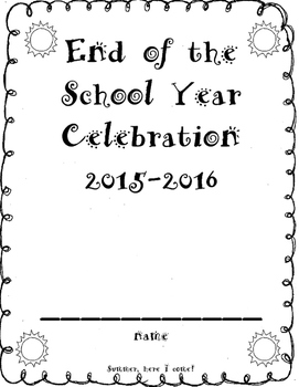 End of Year Celebration Booklet