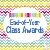 End of Year Class Awards {Bright Chevron}