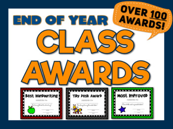 End of Year Awards {Hundreds of Editable Certificates for