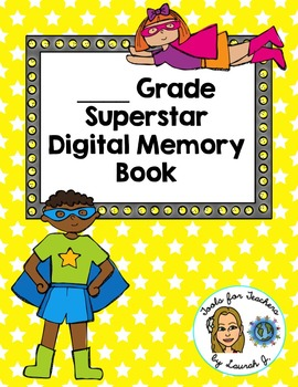 End of Year Digital Memory Book for Google Drive (UK/Canad