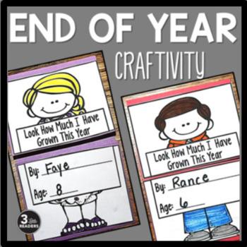 End of Year Fun Craftivity Bundle