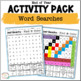End of Year ~ Fun in the Sun Activities Literacy and Math