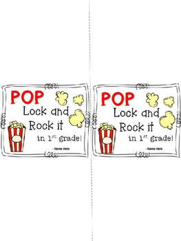 End of Year Gift - Popcorn Covers