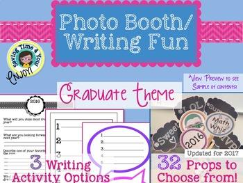 End of Year Graduate Photo booth Fun