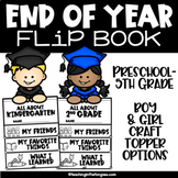 End of The Year Activities Graduation Craft Flip Book